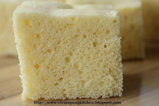 Steamed Orange Sponge Cake Recipe