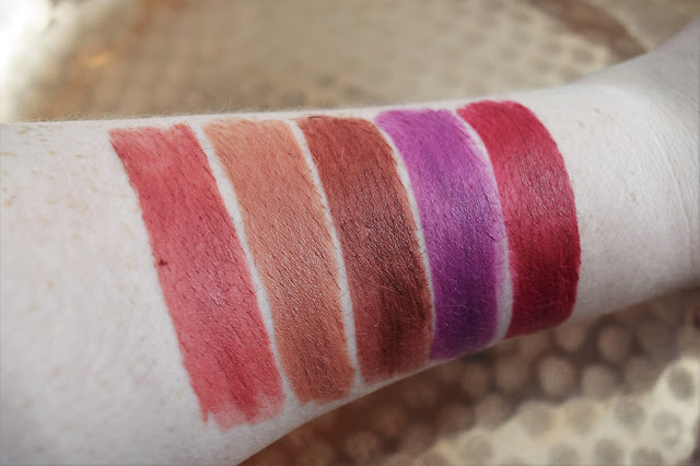 Rimmel The Only 1 Matte Lipstick Swatches