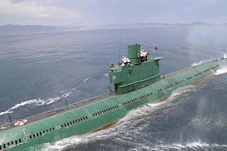 Submarino norte-coreano está desaparecido
