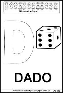 Alfabeto cartaz letra D