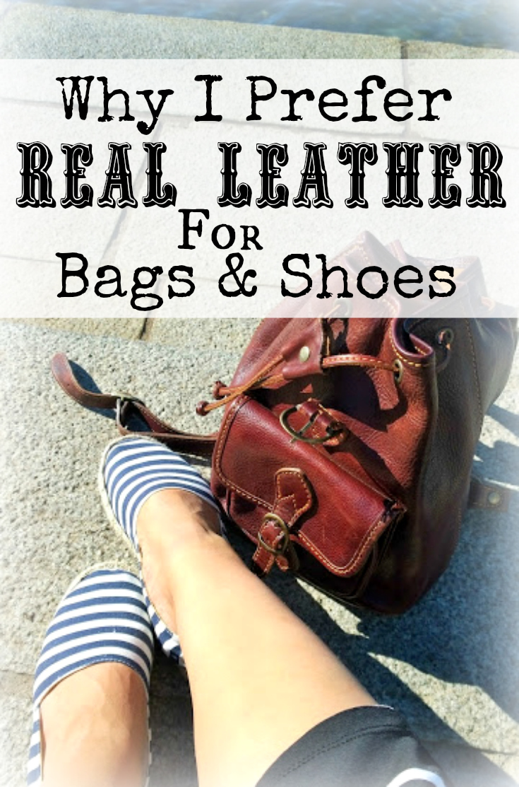 Why, after several years of trying with man made leather, I prefer real leather most of the times when it comes to shoes and bags | Funky Jungle - Style & Life Blog
