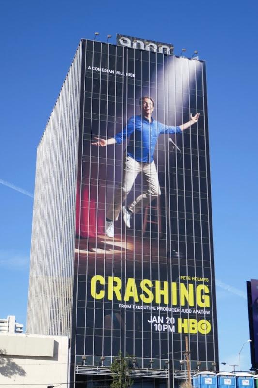 Crashing season 3 billboard