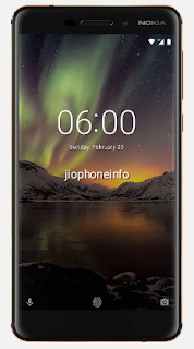 Nokia 6.1 2018 edition front