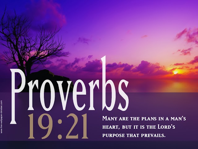 Free Desktop Bible Verse Wallpaper Proverbs : 19:21