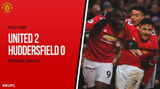 Video Cuplikan Gol Manchester United vs Huddersfield Town 2-0