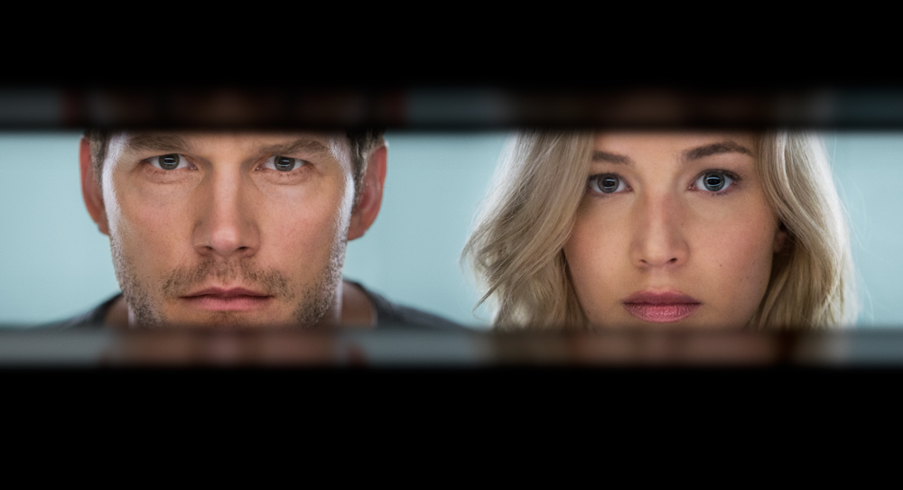 Passageiros: O Filme | Jennifer Lawrence e Chris Pratt nas imagens e vídeo inéditos da ficção espacial