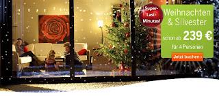 Weihnachten Last Minutes Center Parcs