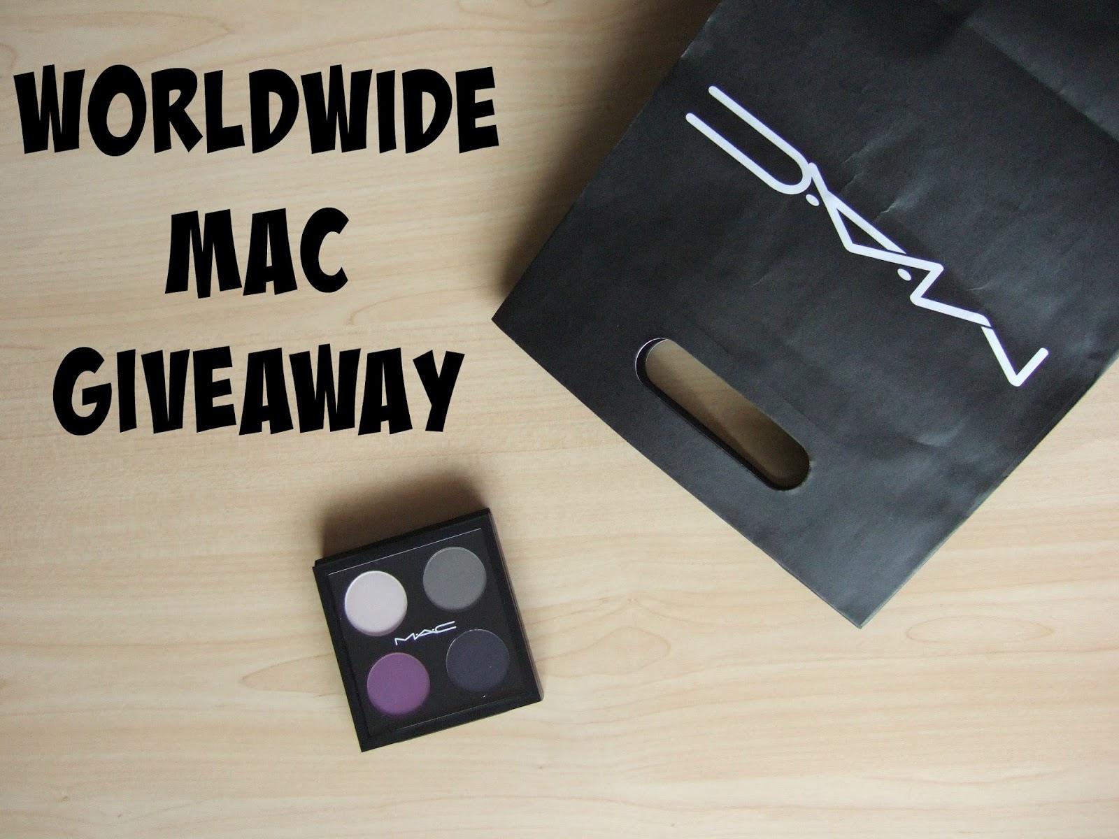 March MAC-ness: Worldwide MAC Giveaway #2