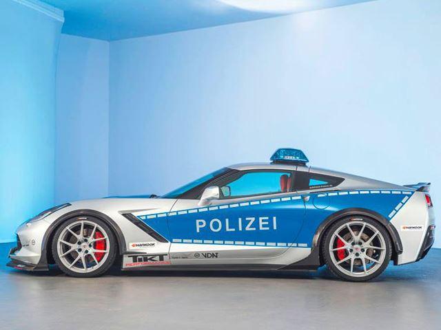 polizei6 Η γερμανική αστυνομία αγοράζει Corvette και τη βελτιώνει, μάντεψε γιατί Chevrolet, Chevrolet Corvette, zblog, αστυνομία, Γερμανία
