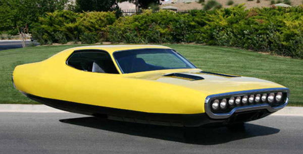 What Hened To The Ideas About Flying Cars Beni Bichof Has A Design Idea Old Mopars Why Not