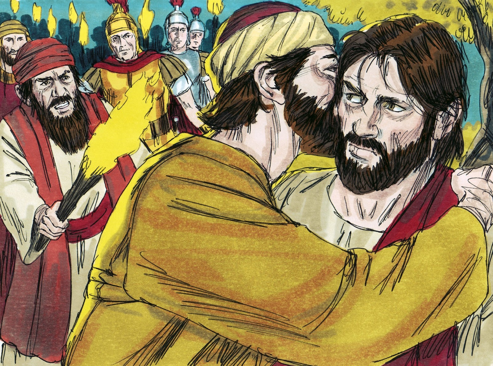 judas and jesus relationship with his father