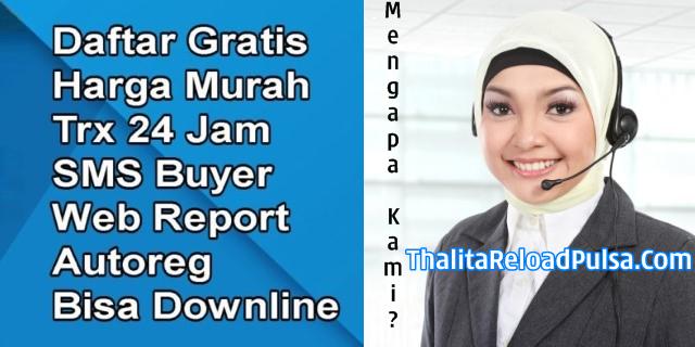 Web Resmi Server Thalita Reload Pulsa Termurah Saat Ini