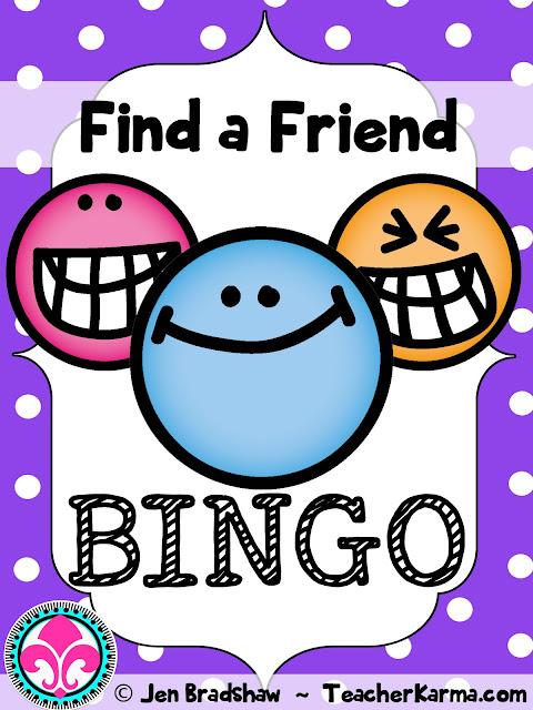 back to school bingo freebie teacherkarma.com