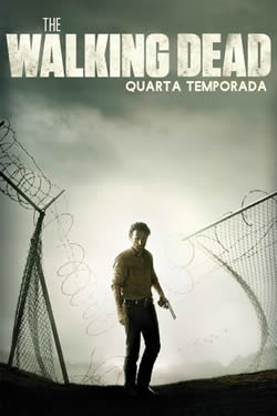 Capa Quarta Temporada de The Walking Dead