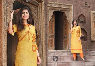 Yami fashion culture cotton kurtis