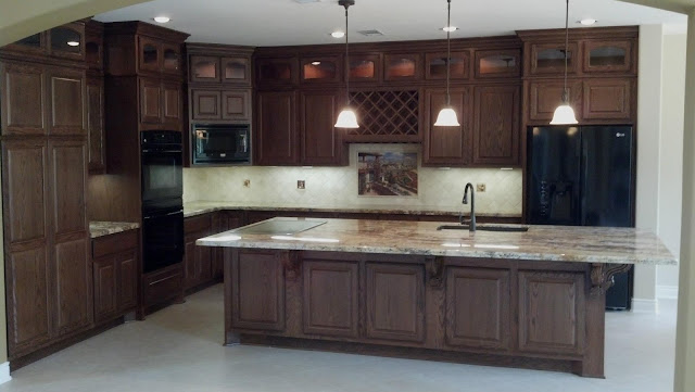 Cabinetry Toppers above cabinets