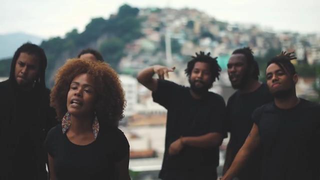 Cypher Preta - Nyl Mc, Max Volume, Híbrido, Thaís Bueno, Ene Jhow & André Machado