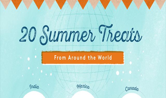 20 summer treats around the world