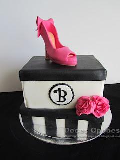 Bolo de aniversário da Bárbara