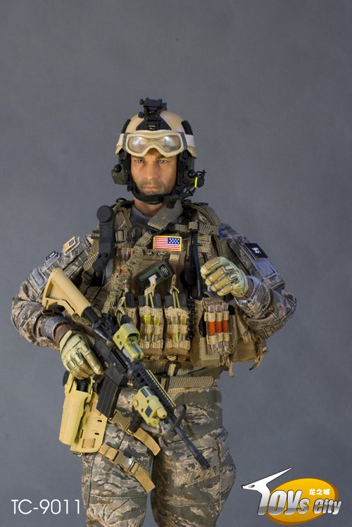 What Is Voodoo >> 1:6 AFSOC Figures: Toys City USAF HALO CCT