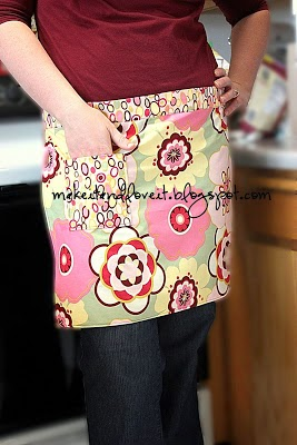 Make It Love It ~ Quick Half Apron