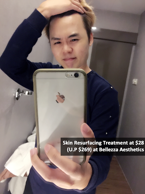 Bellezza Aesthetics - Facial Review Evilbean Singapore Blogger