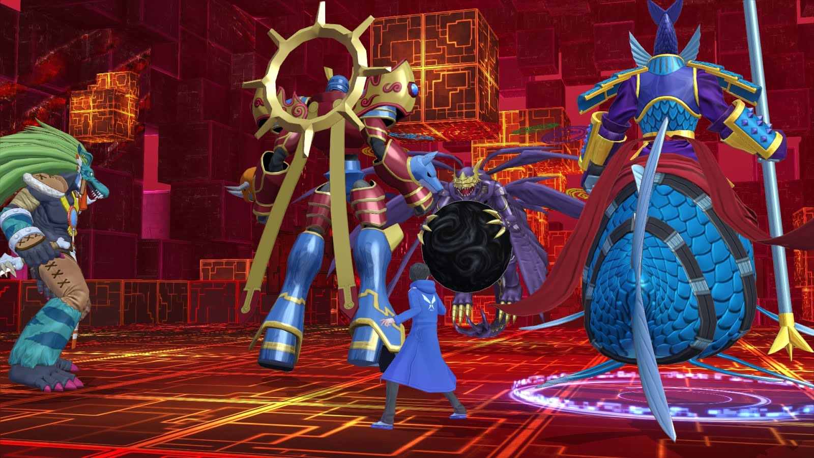 Digimon Story Cyber Sleuth Hacker S Memory Launches 19 01 2018