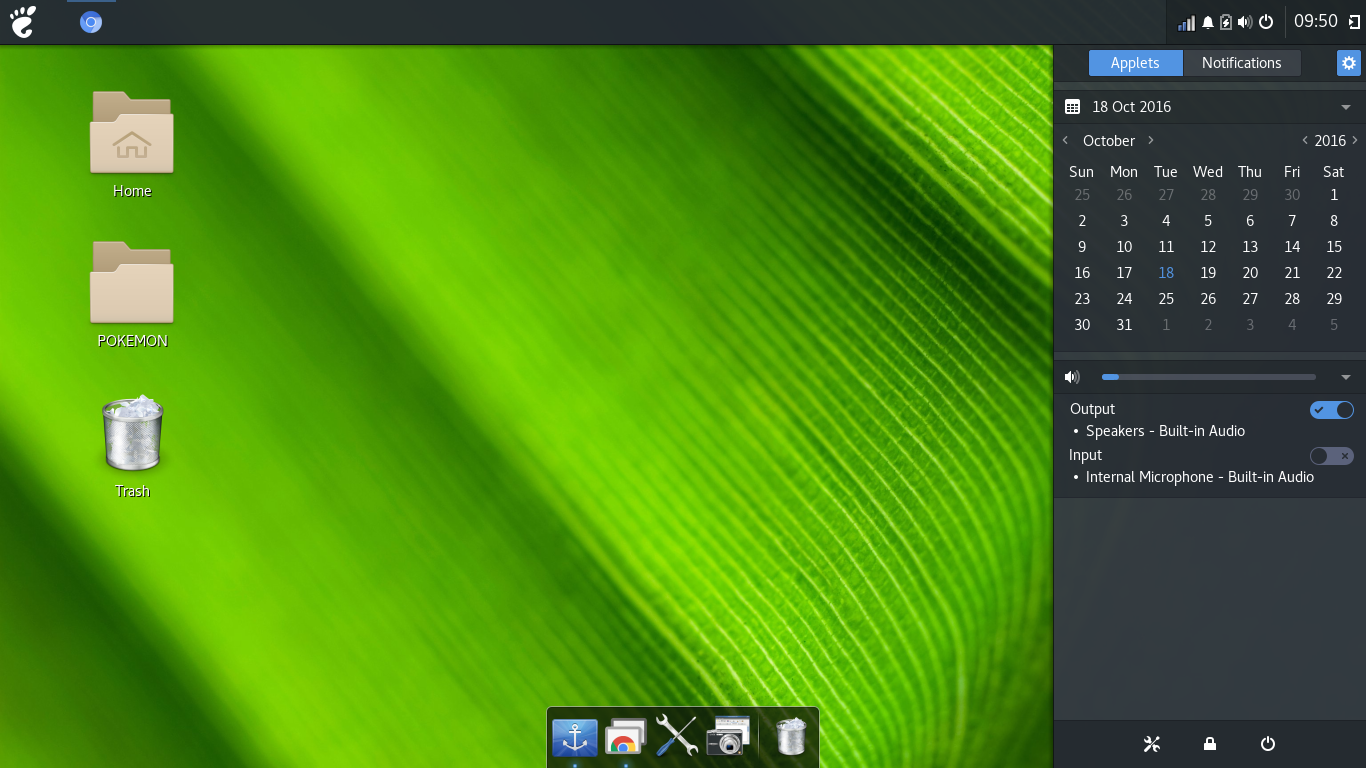 Budgie Desktop on Archlinux