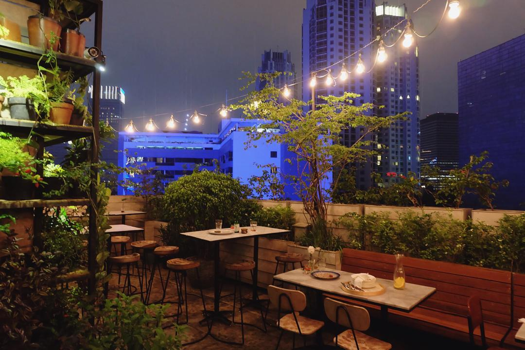 Hause Rooftop Amp Kitchen Setiabudi Jakarta100bars