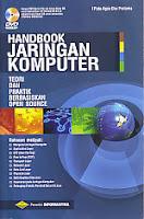 ajibayustore  Judul Buku : Handbook Jaringan Komputer – Teori dan Praktik Berbasiskan Open Source – bonus DVD