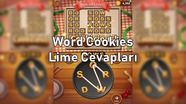 Word Cookies Lime Cevaplari