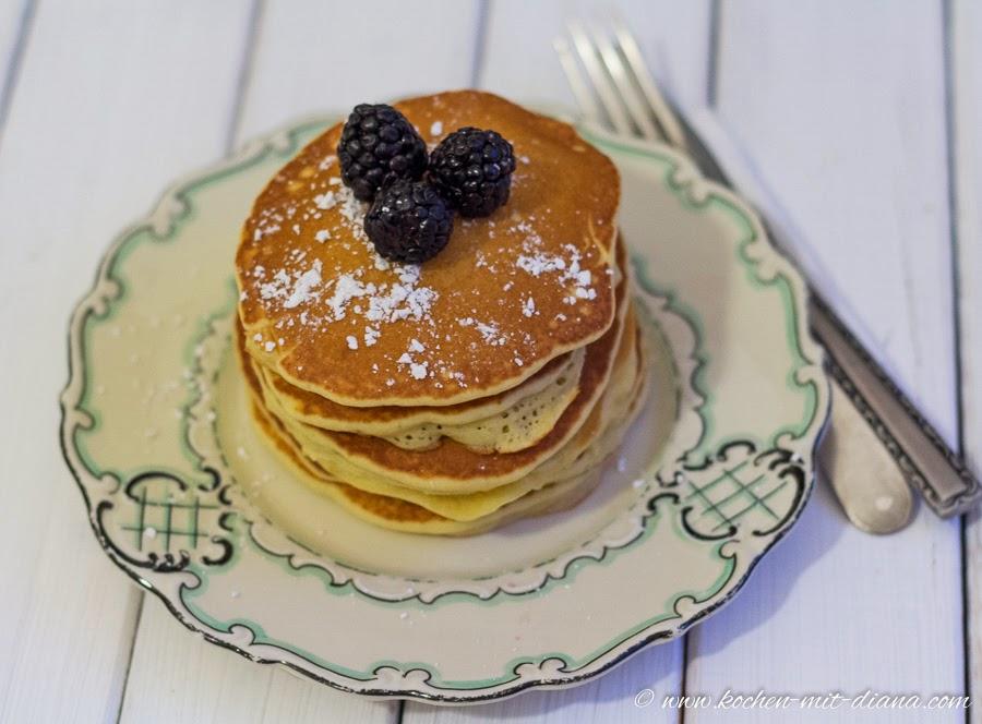 Einfache Pancakes