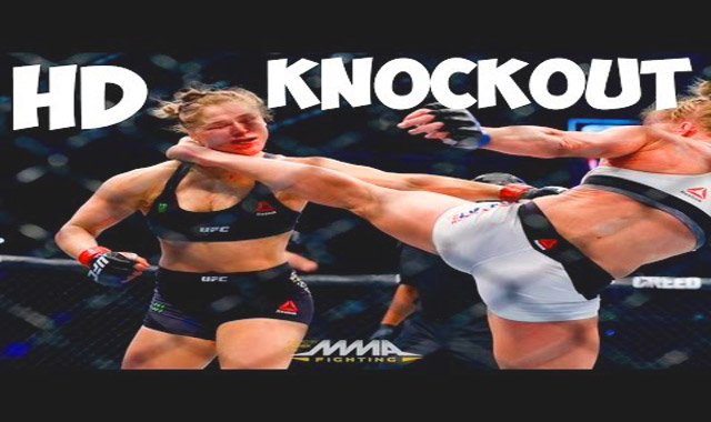 Rhonda Rousey vs Holly Holms Video Fight: Rousey Got Knocked Out Holms Wins