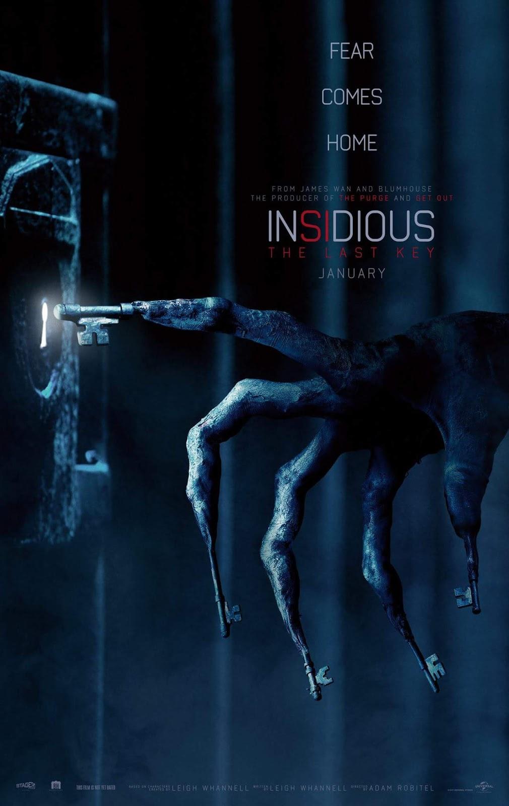 Sobrenatural: A Última Chave | Trailer Legendado e poster