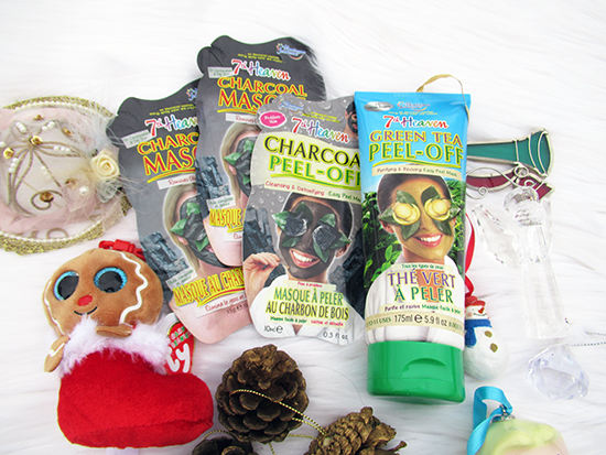 Fill Up Those Christmas Stockings with 7th Heaven ~ #Review #Giveaway #2017GiftGuide 7th Heaven charcoal masque 7th Heaven charcoal Peel-off 7th Heaven Green-Tea Peel-off