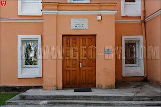 Музей традиционной культуры в Ивенце. Вход