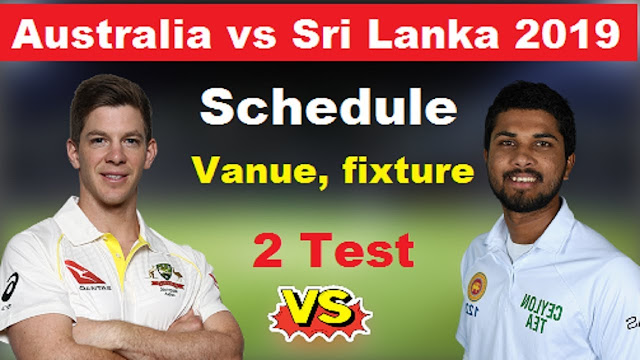 Sri Lanka tour of Australia 2019 Schedule, Squads | Aus vs SL 2019 Team Captain and Players ESPNcricinfo, Cricbuzz, Wikipedia, International Matches Time Table.