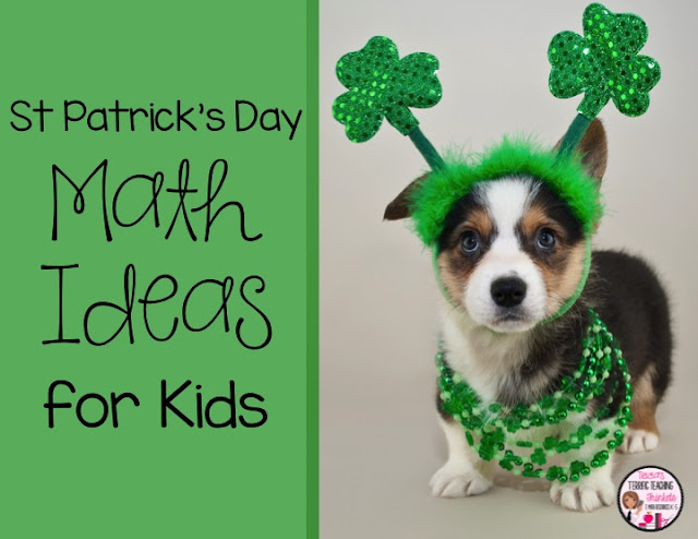 St Patrick Day Math Ideas and Freebies for Kids