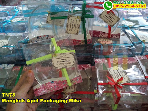 Toko Mangkok Apel Packaging Mika