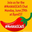 #NotAtASCA15 Chat Transcript: Virtually Following #ASCA15