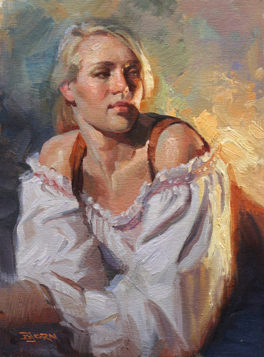 "American Figurative Painter -""G.Bjorn Thorkelson"""