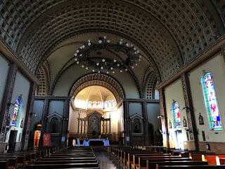 Interior da Igreja Matriz de Encantado (RS)