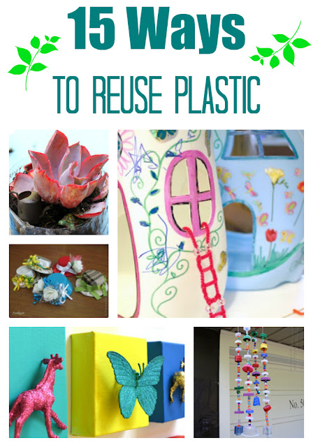 15 Ways to Reuse Plastic (bottles, cups, toys, and more)