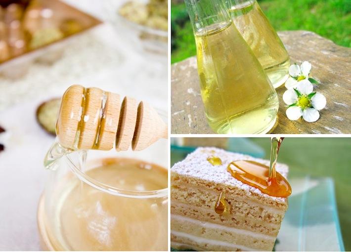 natural organic honey and honey pie from croatia