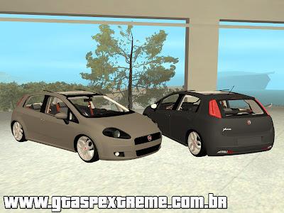 Fiat Punto ELX 2011 Edit + Fixa + 17 para GTA San Andreas