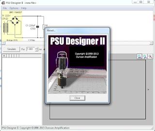 Screenshot 1: PSU Designer II