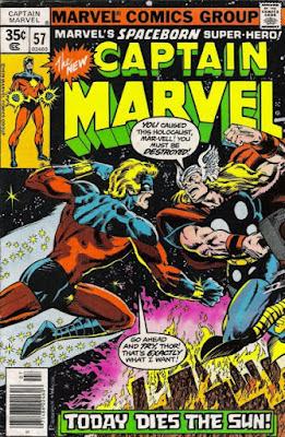 Captain Marvel #57, Thor