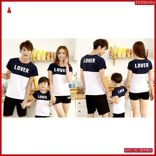 AKC192K132 Kaos Couple Anak 192K132 Keluarga BMGShop