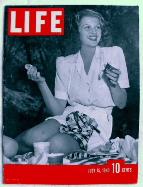 15 July 1940 worldwartwo.filminspector.com Life Magazine Rita Hayworth
