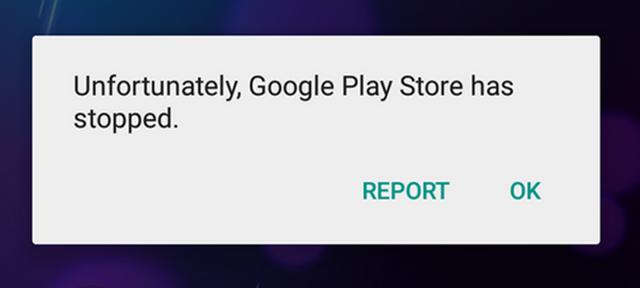 إصلاح مشكلة توقف متجر جوجل بلاى Google Play Store عن العمل